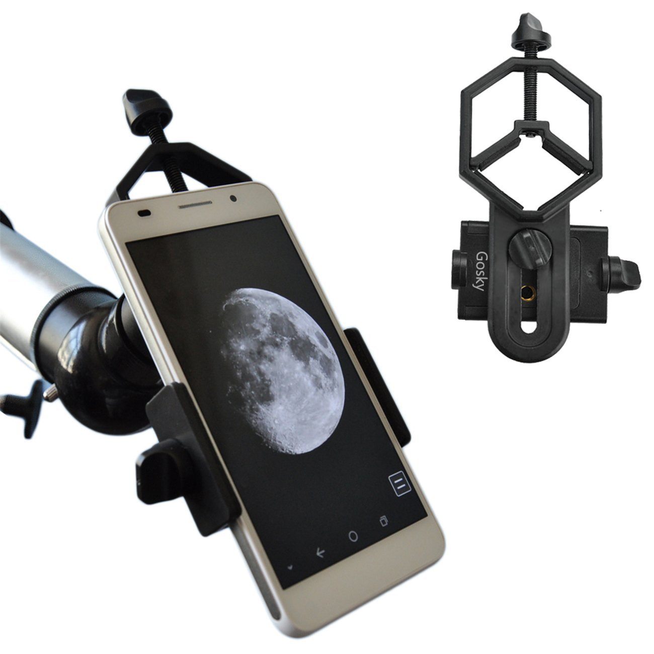 Gosky Universal Smartphone Adapter Mount - Microscopy is getting more innovative!